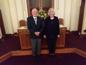 June 10, 2018 – Judy Christie & Lloyd Wolf